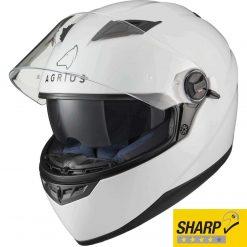 Casca Moto Agrius Rage SV - Alb