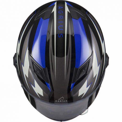 Casca Moto Integrala Agrius Rage Voltage - AlbastruCasca Moto Integrala Agrius Rage Voltage - Albastru