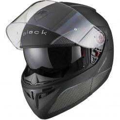 Casca moto flip up Black OptimusCasca moto flip up cu ochelari de soare si pinlock Black Optimus MAX SV