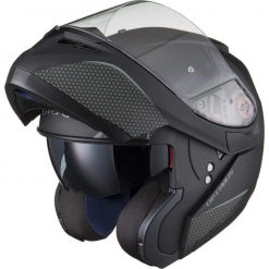 Casca moto flip up Black Optimus Casca moto flip up cu ochelari de soare si pinlock Black Optimus MAX SV