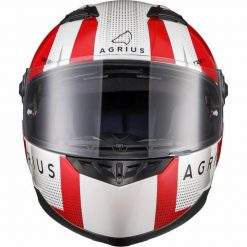 Casca Moto Agrius Rage SV Warp Rosu
