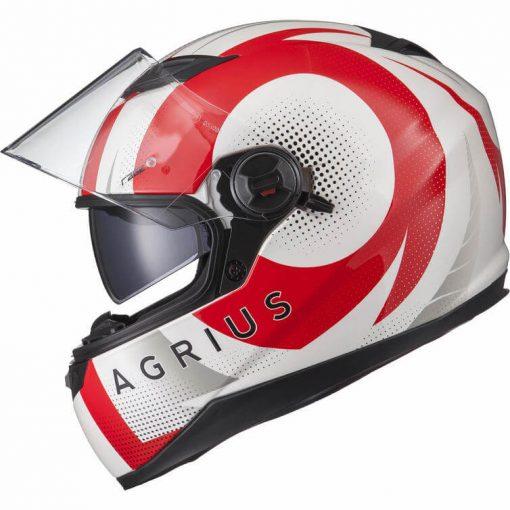 Casca Moto Agrius Rage SV Warp RosuCasca Moto Agrius Rage SV Warp Rosu