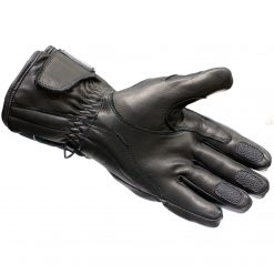 Manusi moto lungi cu protectii - impermeabile - Black Vector