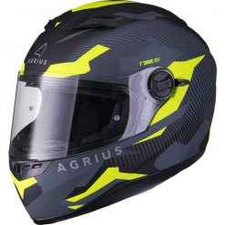 Casca Moto Agrius Tracker SV – Negru/Galben