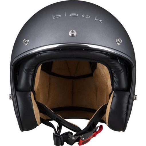 Casca moto open face Black Classic