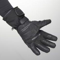 Mănuşi moto impermeabile Sweep GS200 - piele + textil
